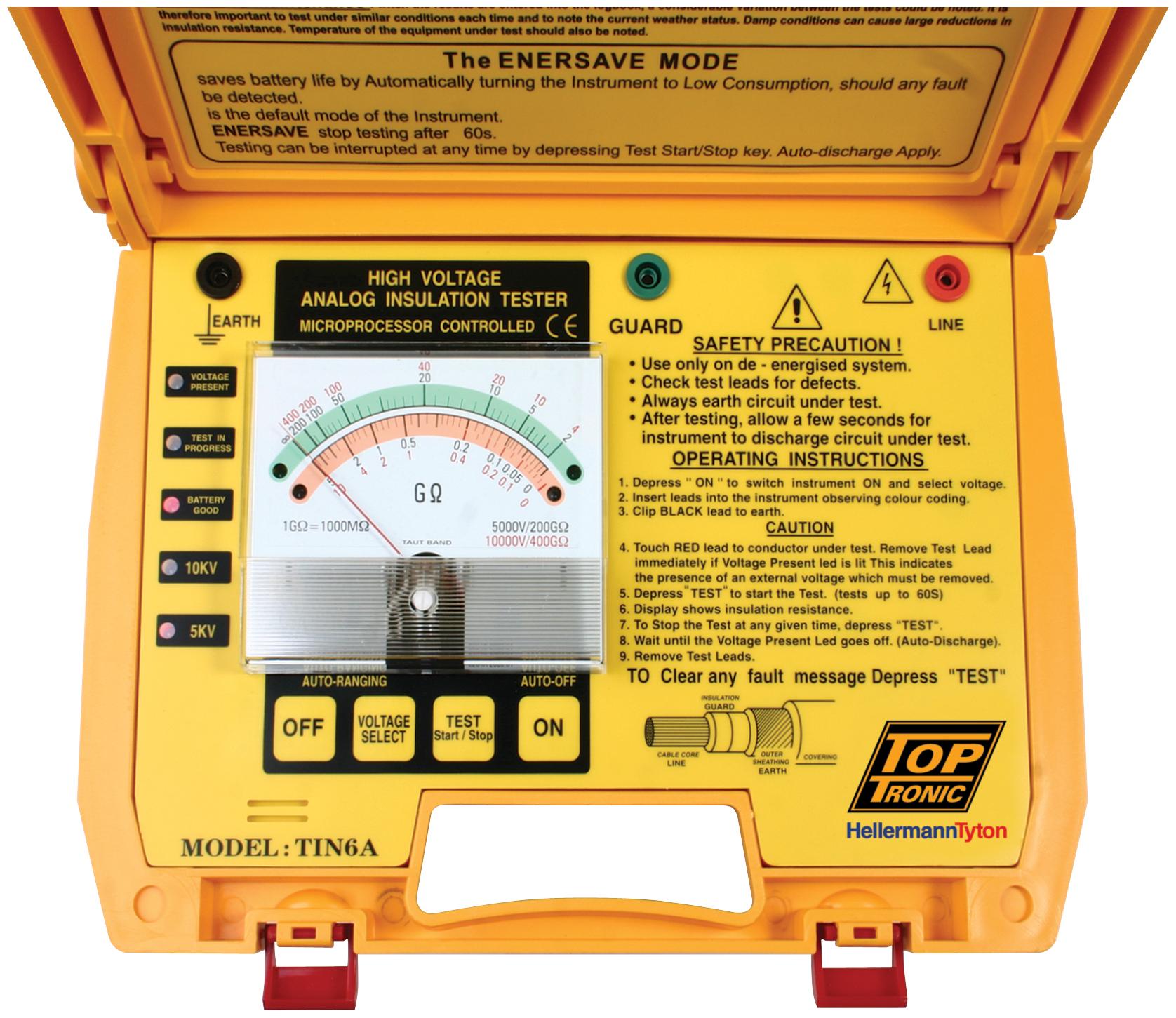 Voltage Proximity Tester : Tin a toptronic ltd